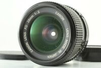 【Exc+6】 Canon NEW FD NFD 28mm F2 MF Wide Angle Prime Lens from JAPAN #391
