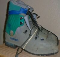 Koflach Viva Soft Lady Grey Hard Shell Mountaineering Boots US Women's 10.5