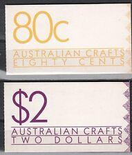 Australia Scott 1097a-b Mint Nh booklets (Catalog Value $19.50)