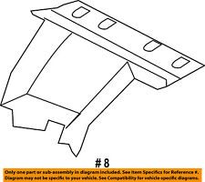 FORD OEM 15-18 F-150 Windshield-Upper Cover FL3Z17D550AC