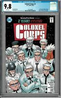 DC KFC: The Colonel Corps #2 Infinite Crisis San Diego Comic Con SDCC CGC 9.8!!!