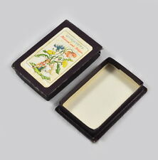 """Old Box - Card Game/Quartet """" Flowers And Blossoms From Ruth Sonner """""""