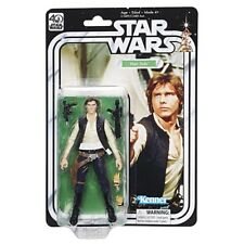 Star Wars 40th Anniversary The Black Series 6 Inch HAN SOLO Kenner New & Sealed