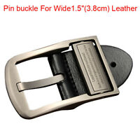 "2019 Top quality alloy men's Belt buckle pin buckle For Wide 1.5""(3.8cm) Leather"