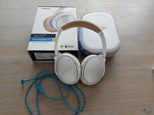 Casque Bose QuietComfort QC 25 Android Blanc Reduction de bruit Tres Peu Utilisé