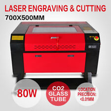 80W CO2 Laser Machine Laser à Graver Engraving Cutting Machine couper 700x500mm