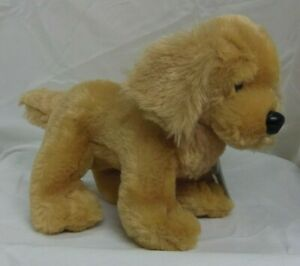 Butterscotch Retriever Dog full size 9in Webkinz new w/ sealed unused code HM690
