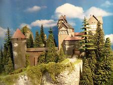 Diorama H0 Modell Burg/Schloss Burg Barbarossa Versand kostenlos  **Preishit*
