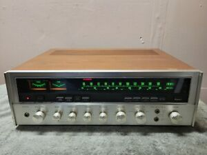 Sansui Seven silverface AM/FM Stereo Receiver. Looks good, and works good.