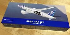 RARE PROMO STAR WARS R2-D2 ANA Original JET 1/200 Scale Model Plane Japan New