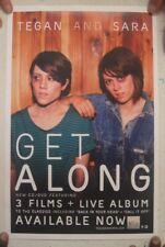 Tegan And Sara Poster Get Along Album Promo & Live