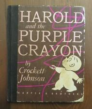 Harold and the Purple Crayon Harper & Brothers Vintage Early or First Edition