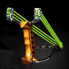 High Velocity Pro Steel Hunting Wrist Slingshot Brace Sniper Catapult Sling Shot