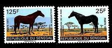 SENEGAL - 1971 - I progressi nell'allevamento di cavalli - Yv. 343/344