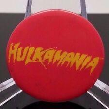 Hulk Hogan Vintage Hulkamania Pinback WWF