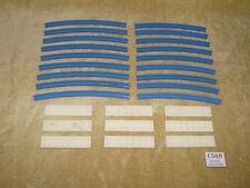 Set LEGO: TRENO: supplementare 4.5V: 151-1 Binario curvo (1966) 100% Retro rotaie
