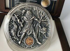 Niue 2018  PERUN Thunder Slavic Gods 2 Oz $2 Silver Coin