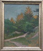 IMPRESSIONIST MAX WERNER (1879-1952) DÜNENLANDSCHAFT AN DER OSTSEE - 71 x 59 cm