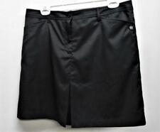 New Ladies Cracked Wheat polyester spandex Size 10 Golf Skorts black