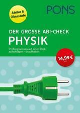 PONS Der große Abi-Check Physik (2017, Taschenbuch)