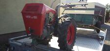 IRUS U1200 Einachsschlepper mit Anhänger, Traktor, Schlepper Oldtimer-