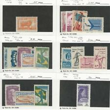 Brazil, Postage Stamp, #C72/C109 Mint Nh (C75-9 Hinged), 1948-66, Jfz