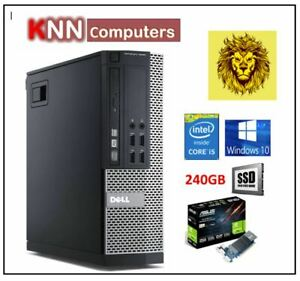 LION Gaming PC Intel Core i5, 16GB RAM , 250GB SSD 2GB Graphics 4K - Refurbished