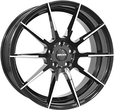 1 Cerchio in lega MONACO APEX Black / Polished 9.5j 19 5x120 et40 72.6