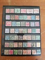 Sweden - Stamp Collection - Mostly Classics & Used Stamps - 4 Scans - Q43