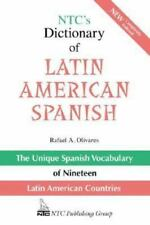 NTC's Dictionary of Latin American Spanish-ExLibrary