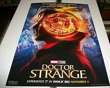 DOCTOR STRANGE IMAX 3D 19 X 13 MARVEL MOVIE POSTER - 2016