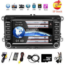 AUTORADIO 2 DIN GPS NAVI DVD BLUETOOTH Für VW GOLF 5 PASSAT TOURAN TIGUAN POLO
