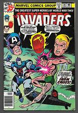 Invaders #36 (Jan 1979, Marvel) Very Good