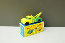 Matchbox Lesney No 13 Dodge Wreck Truck VNM plus Box
