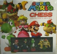 2010 Super Mario Chess Set, Collector's Edition NIB / Sealed