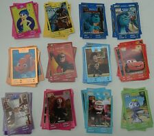Lot de 43 Cartes AUCHAN à collectionner HEROS DISNEY PIXAR