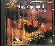 """JAMES LAST """"INSTRUMENTAL FOREVER"""" POLYDOR COMPILATION CD WEST GERMANY 815 250-2"""