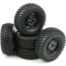 "5pcs RC 1/10 1.9"" Mud Terrain Tires Crawler tyre Height 100mm & 1.9 Wheels Rims"
