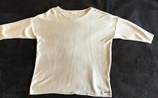 GIRLS BEAUTIFUL MAYORAL CROP SILVER LIGHTWEIGHT JUMPER AGE 10