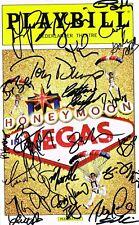 Honeymoon in Las Vegas Original Broadway Cast SIGNED Playbill Tony Danza COA