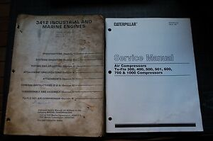 CAT Caterpillar 3412 Industrial Marine Engine Repair Shop Service Manual book