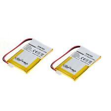 Akku Li-Ion für Sony PS3 Sixaxis Controller LIP1859 LIP1472 LIP1359 - 2er Set
