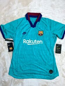 Nike Womens FC Barcelona Third Soccer Jersey 19/20 Large AT2516-310