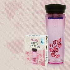 SHUYAO Beauty Box  limitiert Teamaker Pink mit Blüten und 9x Weißer Tee