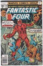 FANTASTIC FOUR (1961 series) 184 185 186