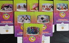 99df7b76f47 Rare Collection 8 Large Limited Ty Beanie Babies Cards 1998 Mint Gift Party  Bags