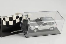2002 PORSCHE CAYENNE TURBO CHROME POLISHED 1:43 Minichamps Diecast