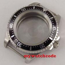 42mm aluminum alloy bezel Watch Case fit 2824 2836 8215 8205 MOVEMENT DG2813