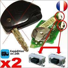 2 X Switch bouton pour télécommande clé plip citroen xsara xm xantia 806 saxo