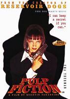 "Reproduction ""Pulp Fiction - I Can Keep A Secret "", Movie Poster, Tarantino"